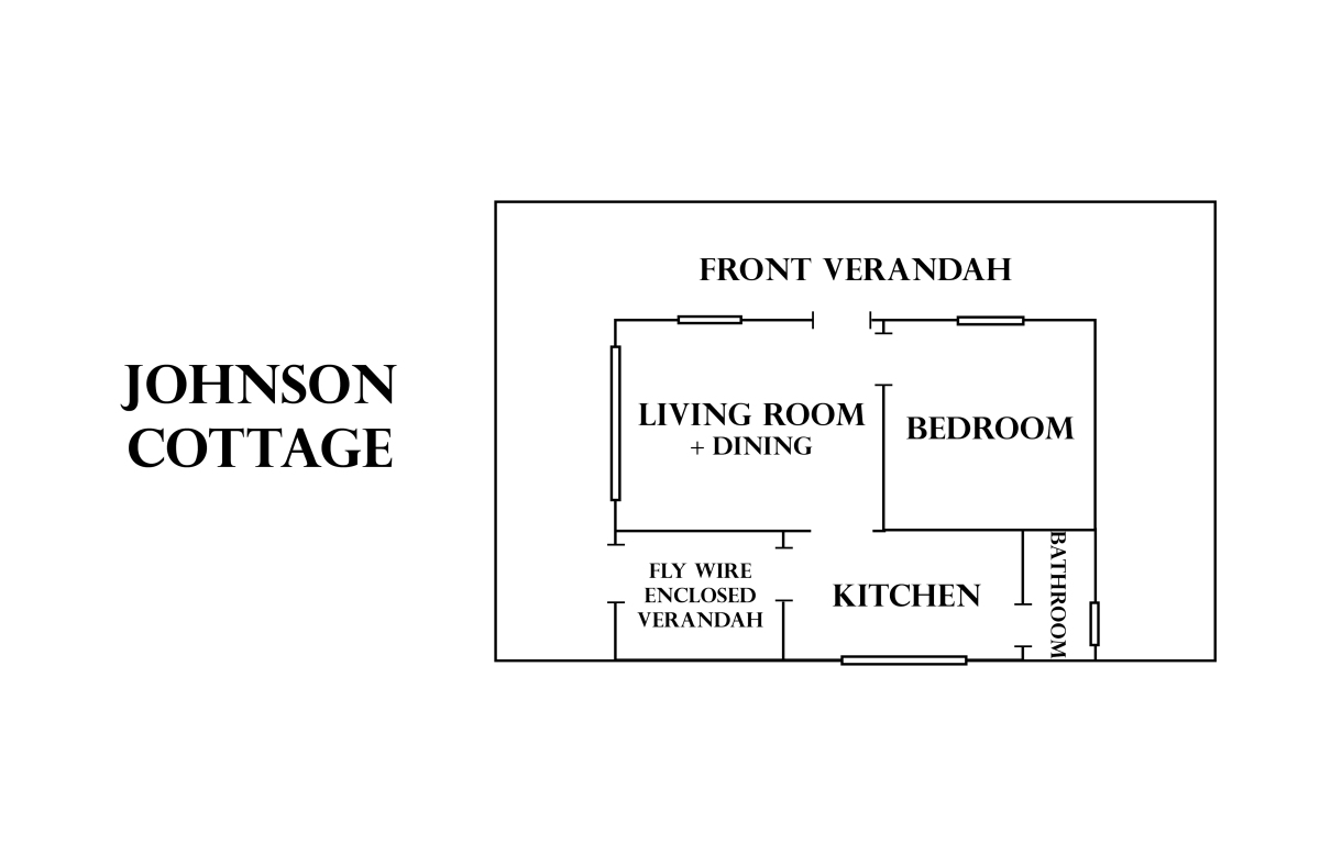 Johnson Cottage Floorplan